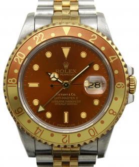 ロレックス GMTマスター 16713  ティファニーWネーム 買取 & 売るならアンティグランデ(1)