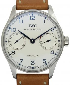 IWC ポルトギーゼ オートマティック 7デイズ IW500107 買取 & 売るならアンティグランデ(1)