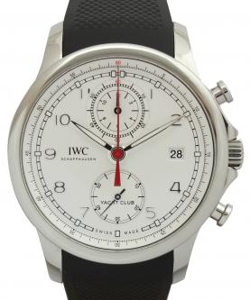 IWC ポルトギーゼ ヨットクラブ IW390502 クロノグラフ 買取 & 売るならアンティグランデ(1)