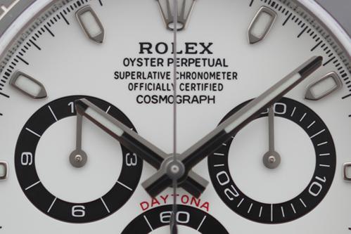 ロレックス コスモグラフデイトナ 116500LN 白 買取 & 売るならアンティグランデ(1)