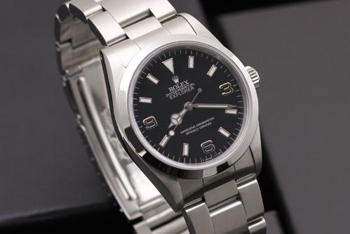 ロレックス エクスプローラーⅠ 14270 ブラックアウト 買取 & 売るならアンティグランデ(3)