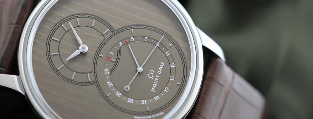ジャケ・ドローの時計