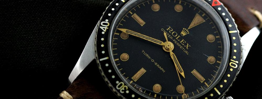 ターノグラフの時計