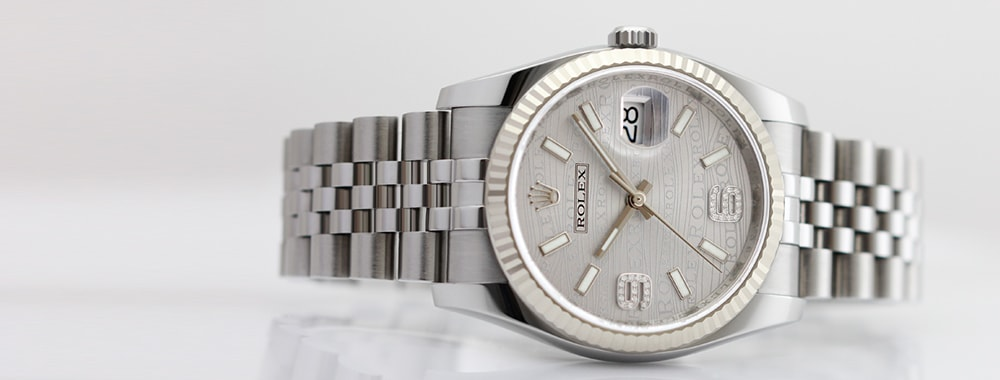 デイトジャストの時計