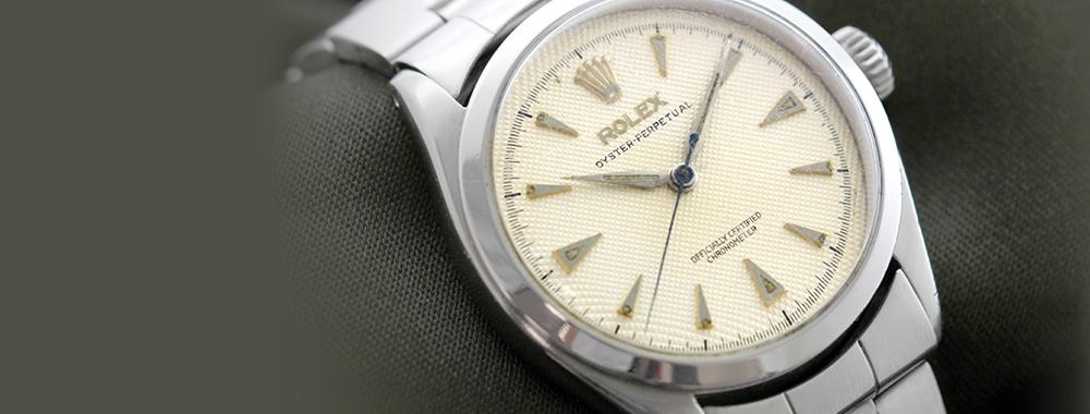 オイスターの時計